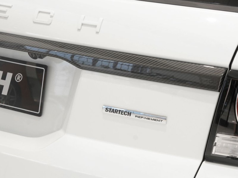 Chrome STARTECH logo for trunk lid