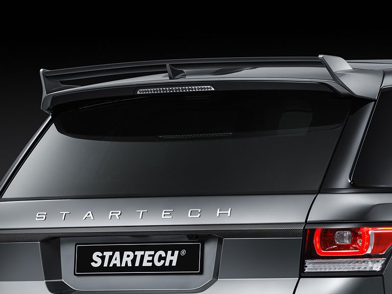 STARTECH logo for bonnet or trunk lid