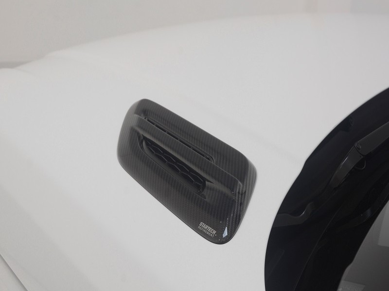 Carbon Cover for bonnet panel, high-gloss finish, set